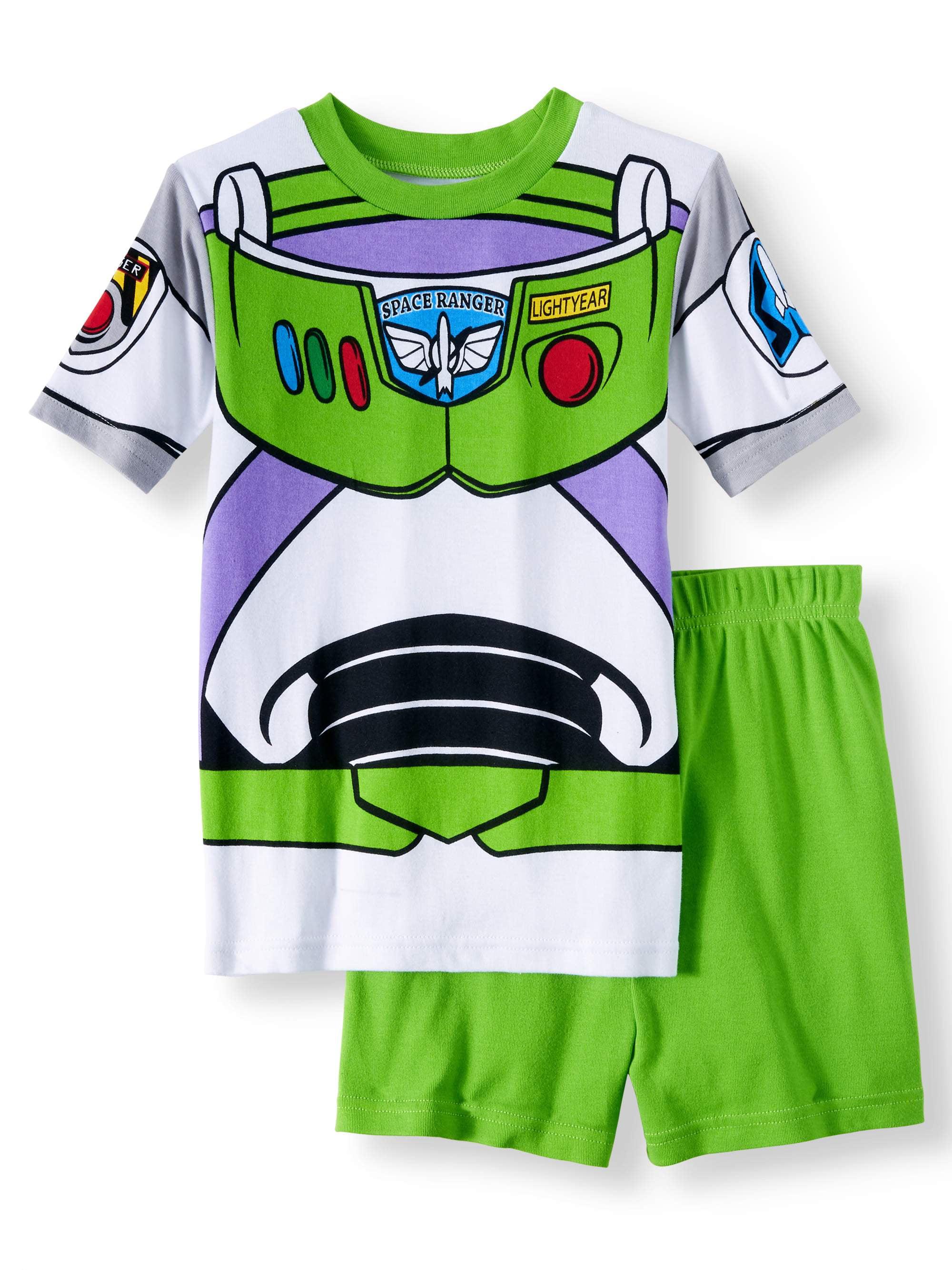3332085cc Toy Story - Toy Story Boys' Cotton 2-Piece Pajama Sleep Set - Walmart.com