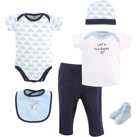 66149fe3581d Hudson Baby Newborn Baby 6-Piece Gift Set