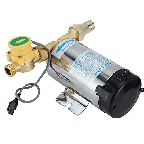 Automatic Stainless Steel Boost Pump Water Shower Booster Pump Solar Power Pressure Self Priming Booster Pump For Shower Heating 90W