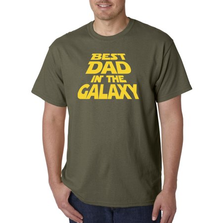 715 - Unisex T-Shirt Best Dad In The Galaxy Star Wars Opening