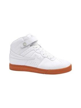 Gray Mens High Top Sneakers