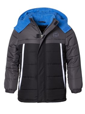 4fb5e5ca5810f Product Image Hooded Tonal Colorblock Puffer Jacket Coat (Baby Boys & Toddler  Boys)
