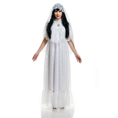 Halloween Vintage Bride Adult Costume - Halloween Costume Vintage