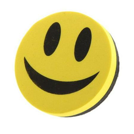 Magnetic Blackboard Whiteboard Eraser Wipe Dry Marker Cleaner School SmileFace  - image 4 of 5