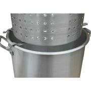 King Kooker #00064 - Aluminum Strainer Rack for Draining (Large) Baskets - Ergonomic design allows liquid to drain off of the basket. (crawfish, shrimp, crab, peanuts, corn, potatoes, etc.)