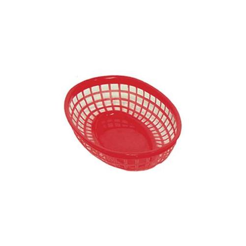 Update International BB96R Fast Food Baskets - Red