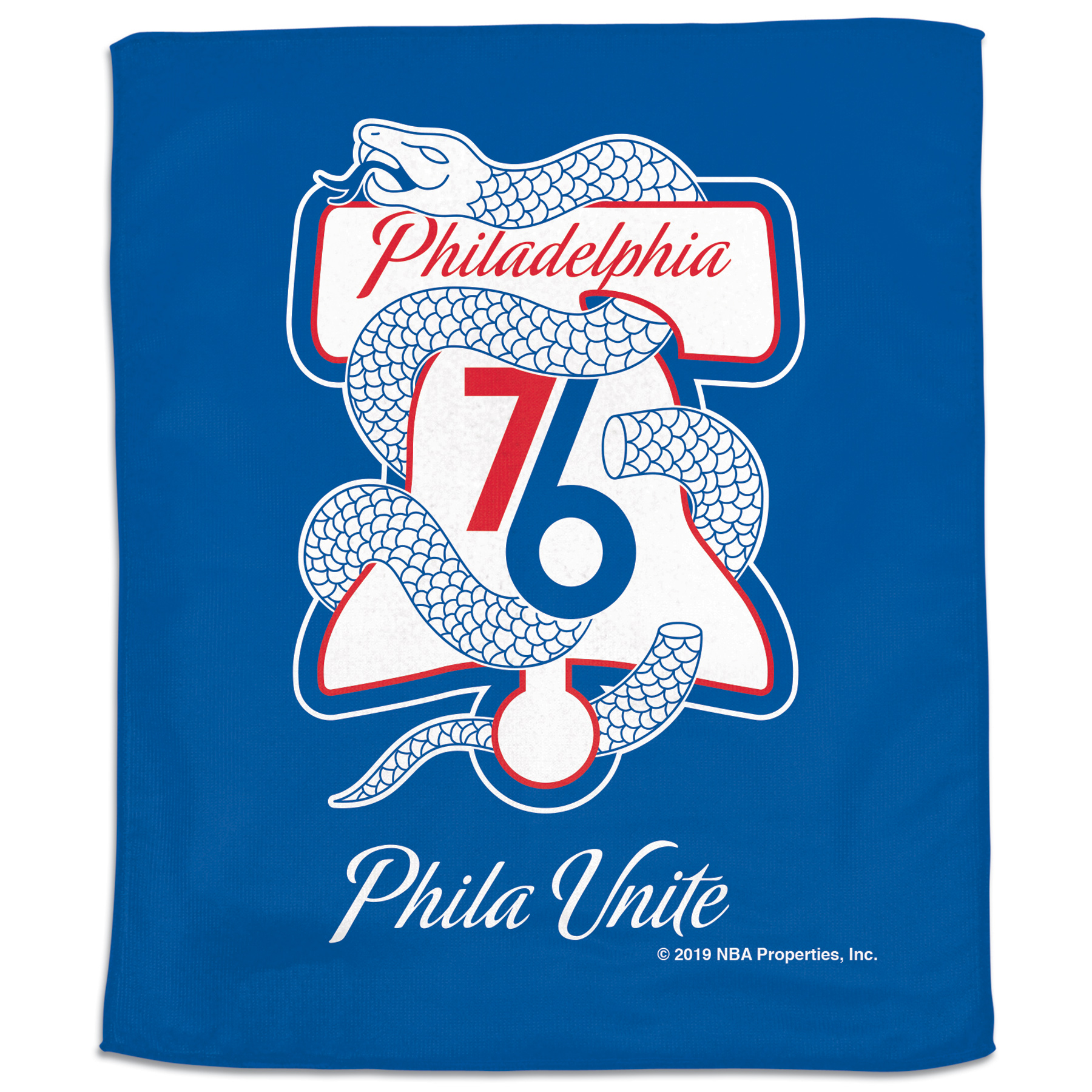 Philadelphia 76ers WinCraft 2019 NBA Playoffs Bound 15'' x 18'' Slogan Rally Towel - No Size