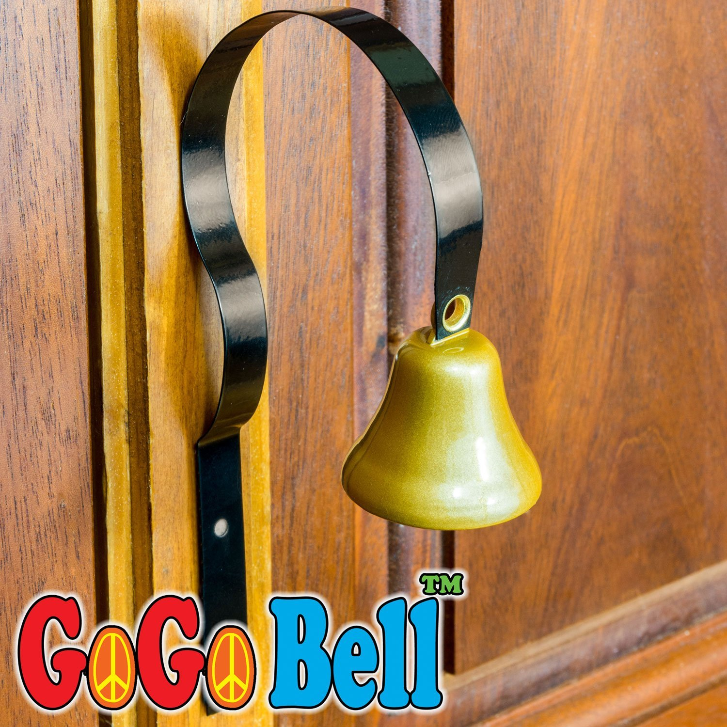 GoGo Bell Dog Doorbell for Housebreaking / Housetraining / Potty Training Your Poochie to Let You Know When they Need to Tinkle