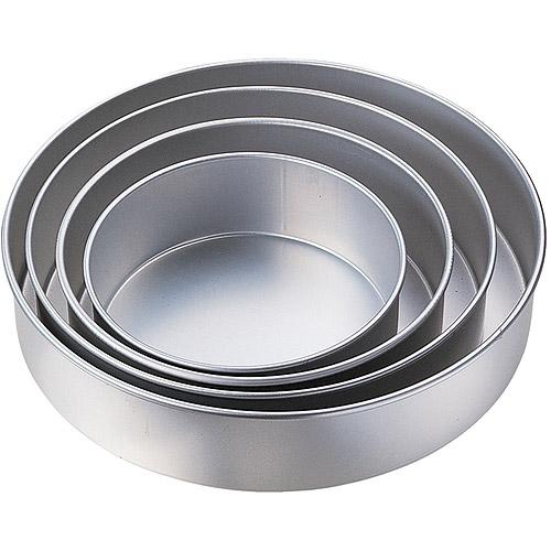Wilton Performance Pans 4-Tier Deep Cake Pan Set, Round 2105-2932