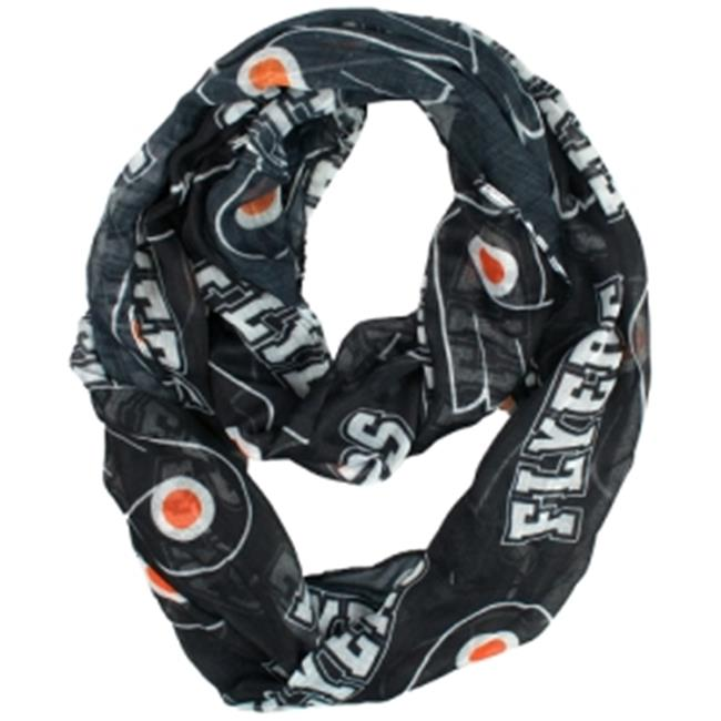 Little Earth LTL-500615-FLYR Philadelphia Flyers Nhl Sheer Infinity Scarf