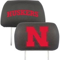 University of Nebraska Headrest Covers