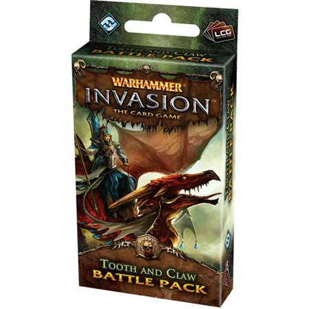 Warhammer Invasion Card Game: Tooth and Claw Battle Pack Warhammer Invasion Card Game: Tooth and Claw Battle Pack