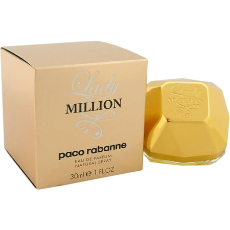 Paco Rabanne Women's Lady Million Eau De Parfum Spray, 1 Oz