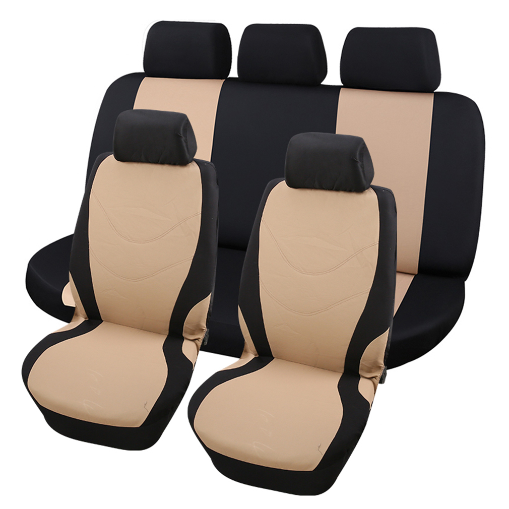 SM003 New Car Styling Front Reat Seat Covers Universal Sponge Seat Covers