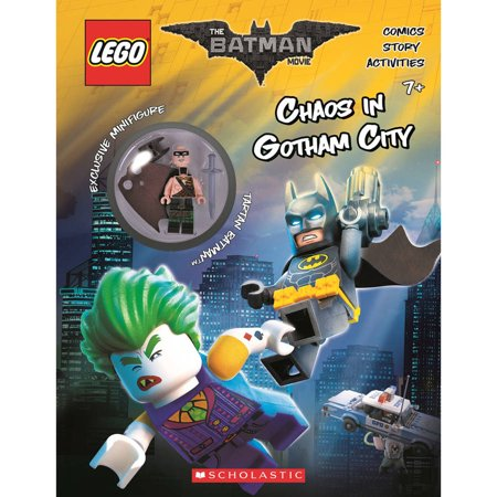 Chaos In Gotham City  The Lego Batman Movie  Activity Book With Minfigure