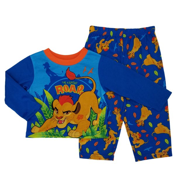 Disney The Lion Guard Toddler Boys 2-Piece Long Sleeve Sleepwear Pajama Set