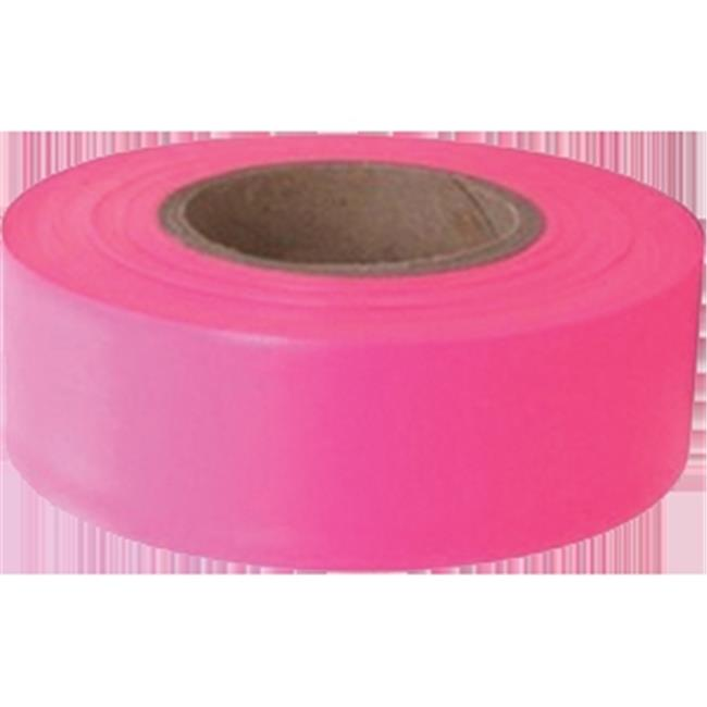 Swanson RFTGLP150 12 pack 1-3//16in x 150ft Glo 4.5 mil Grade Flagging Tape