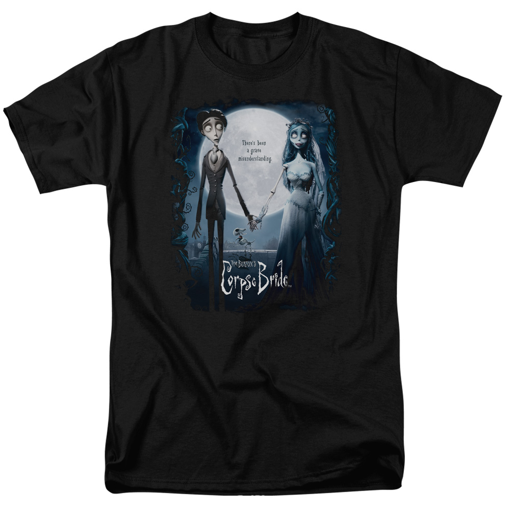 Corpse Bride Poster Mens Short Sleeve Shirt