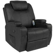 Best Choice Products Executive Swivel Massage Recliner w/ Control, 5 Heat & Massage