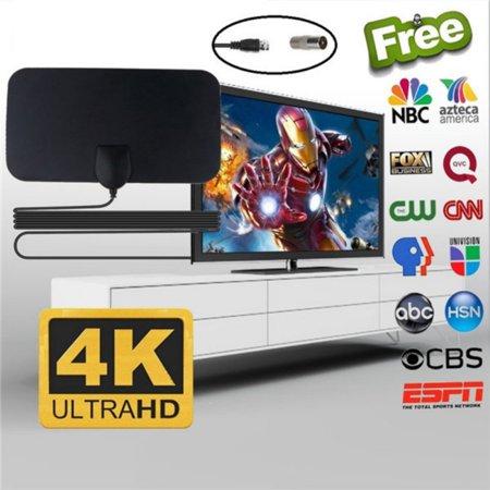 200 Miles TV Antenna 4K HDTV Indoor Antenna Support 1080p HD Digital TV Singal Indoor Antenna Signal