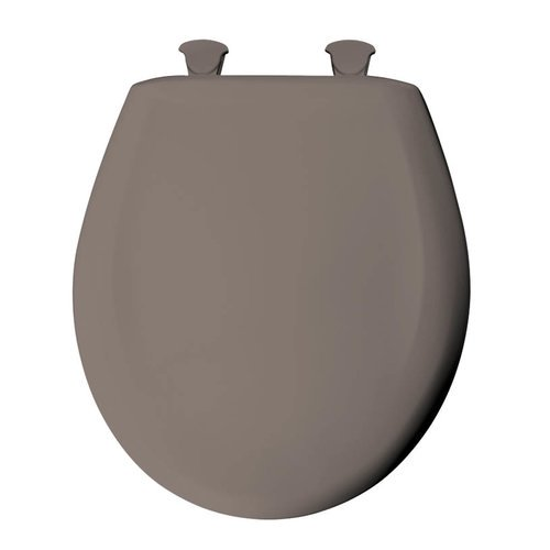Super Bemis 200Slowt Round Closed Front Toilet Seat And Lid With Whisper Close Easy Ncnpc Chair Design For Home Ncnpcorg