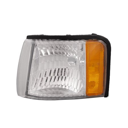 1997-1999 Cadillac Deville Driver Side Left Corner Light Assembly GM2540102 Cadillac Deville Parking Light
