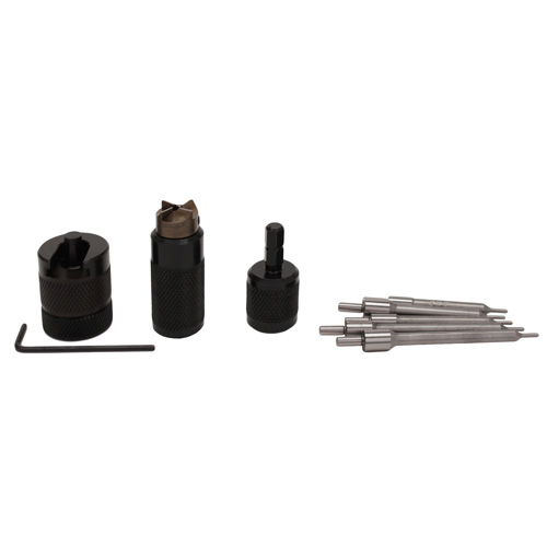 "Lyman ""E-ZEE Trim"" Hand Case Trimmer -Rifle Set SKU: 7821891 with Elite Tactical Cloth by Lyman"