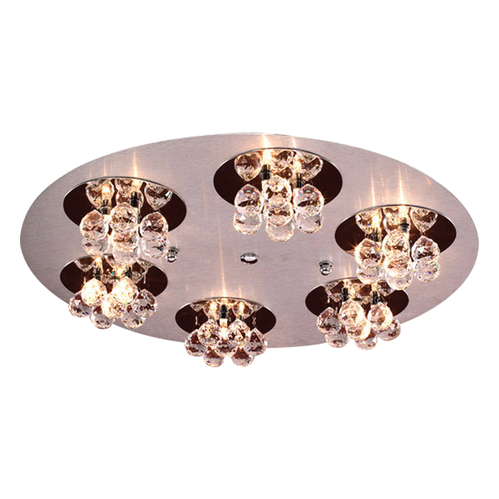 PLC 3 Light Ceiling Light Bolero Collection 72131 AL/PC