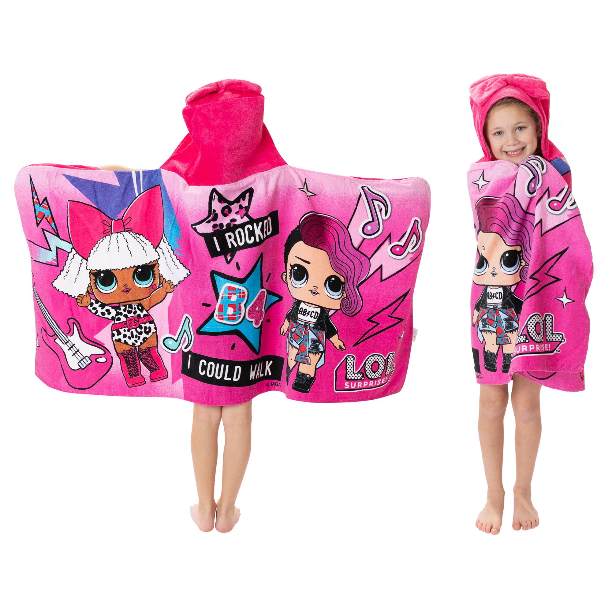 Beach NEW Paw Patrol Hooded Poncho Towel Bath Swimming Boys /& Girls