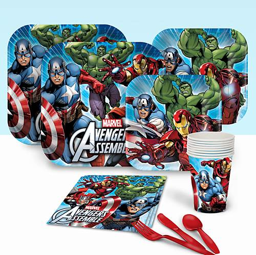 AVENGERS BASIC PARTY PACK FOR 8