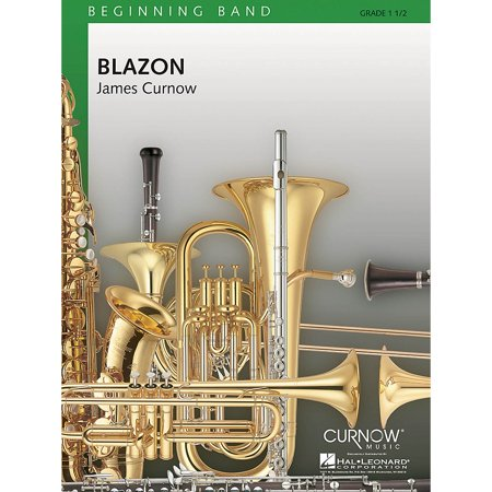 Curnow Music Blazon (Grade 1.5 - Score Only) Concert Band Level 1.5 Composed by James -