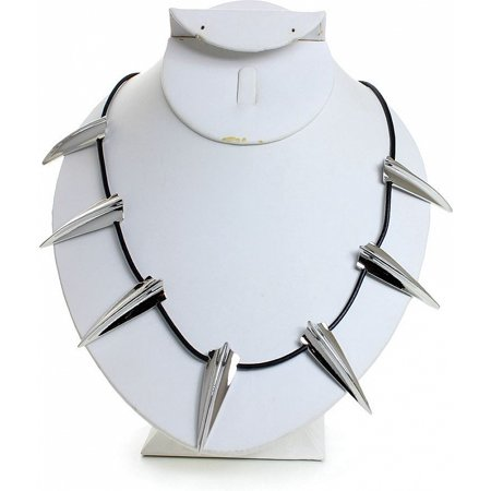 Black Panther King T'Challa Replica Necklace [Silver - 23