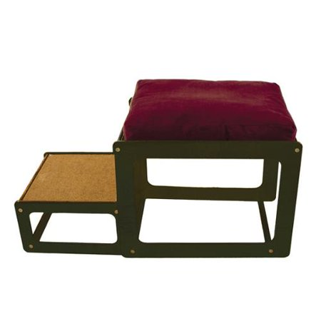 The Savvy Pet Lacey S Lookout Small Espresso Window Seat