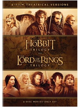 The Hobbit Trilogy / The Lord of the Rings Trilogy: 6-Film Theatrical Versions (DVD)