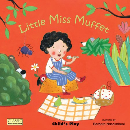 Classic Books with Holes: Little Miss Muffet (Paperback)
