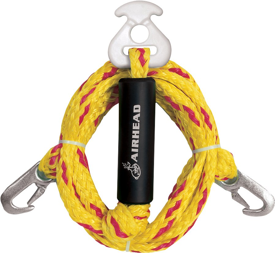AIRHEAD AHTH-2 Heavy Duty Tow Harness Towables Ski Wakeboard Boat Towing Rope by Kwik Tek