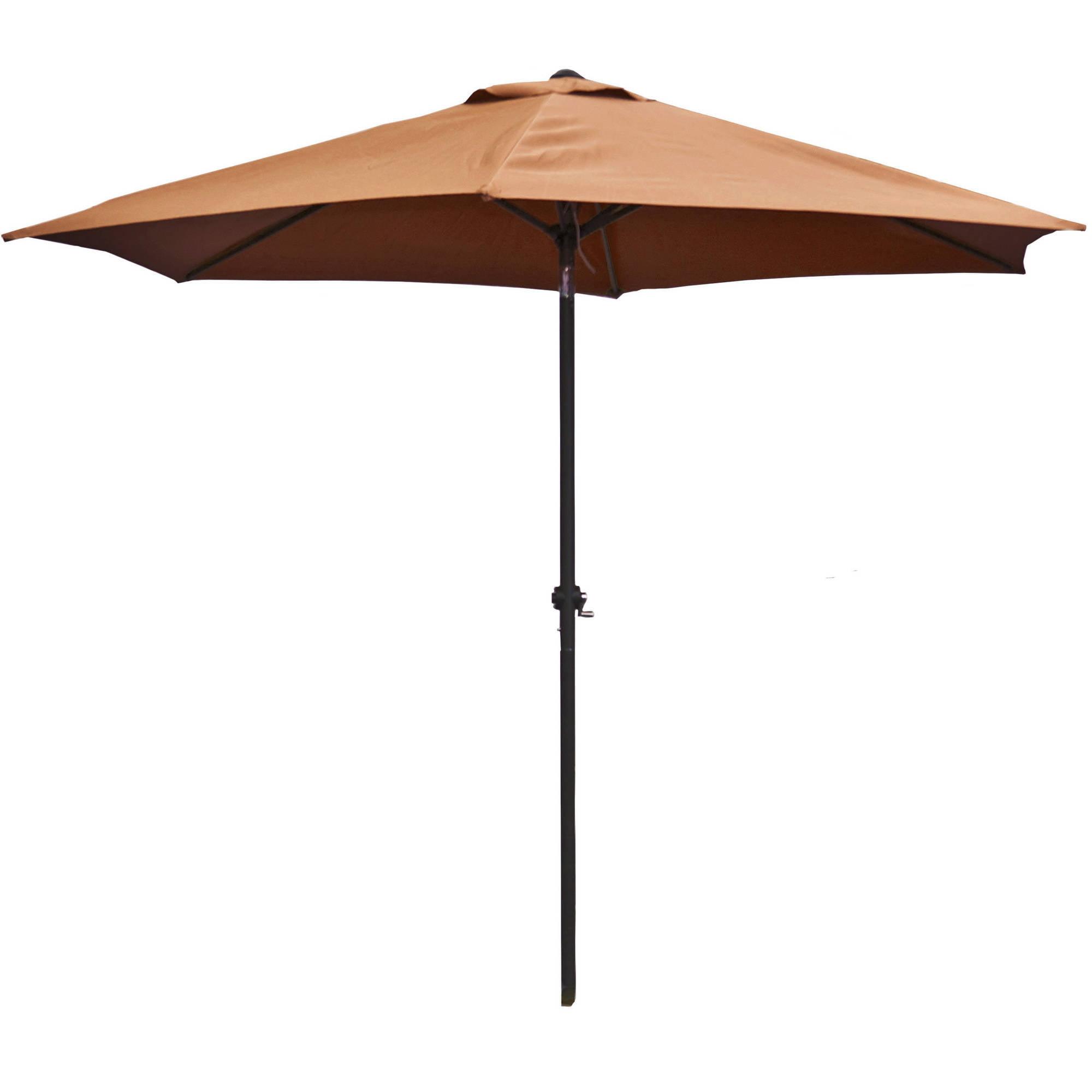 ALEKO UMB9FTTN 9' Outdoor Garden Patio Steel Umbrella by ALEKO