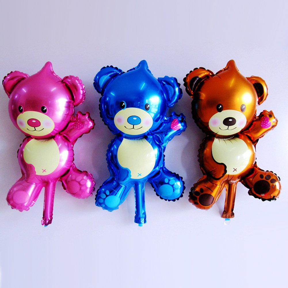 Directer Mini Cartoon Animal Bear Air Balloon Wedding Birthday Party Decoration Kids Toys