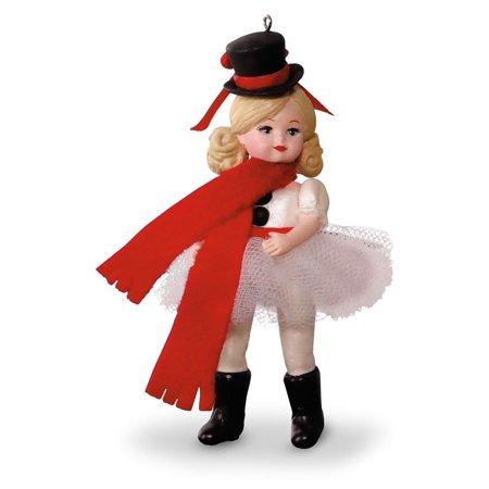 Hallmark 2016 Christmas Ornaments Snowman Ballerina - 21st ...
