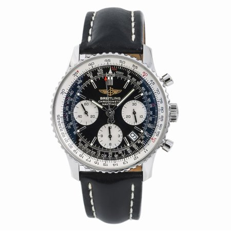 Pre-Owned Breitling Navitimer A23322 Steel Watch (Certified Authentic & Warranty)