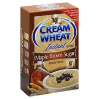 Cream Of Wheat Instant Hot Cereal, Maple Brown Sugar, 10 Ct