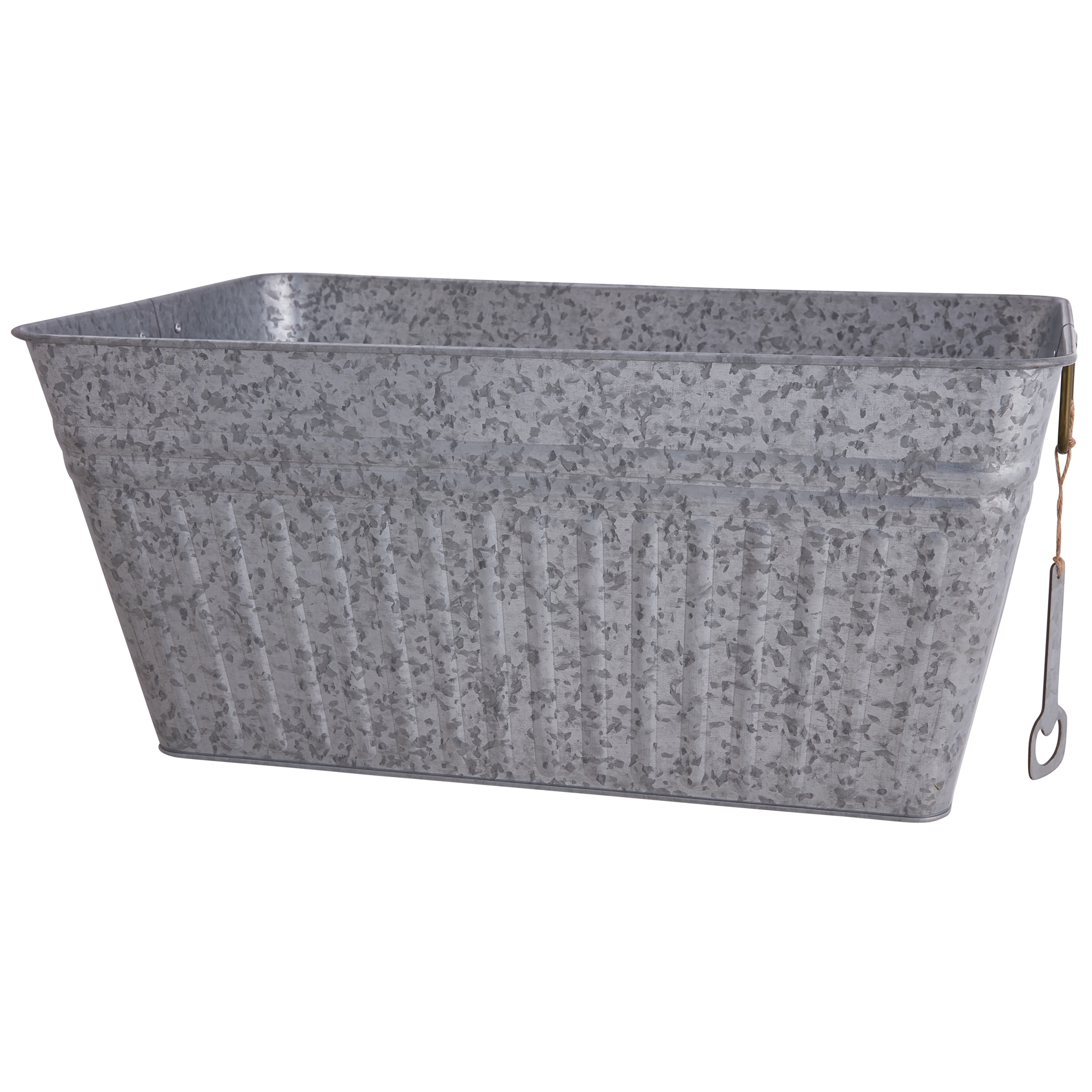 Better Homes And Gardens Galvanized Steel Rectangular Tub