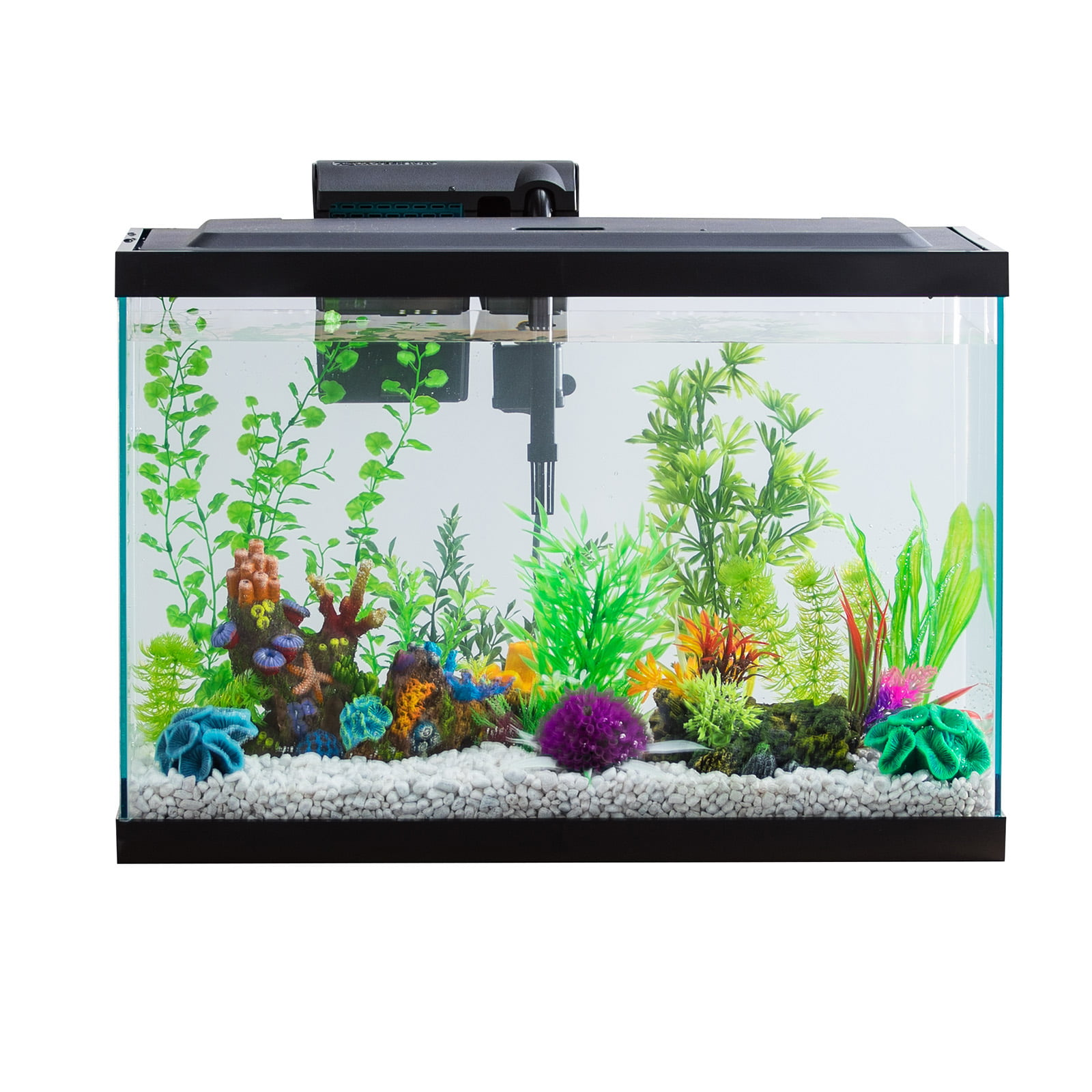 Aqua Culture 20-Gallon Aquarium Starter Kit With LED by Wal-Mart Stores, Inc.