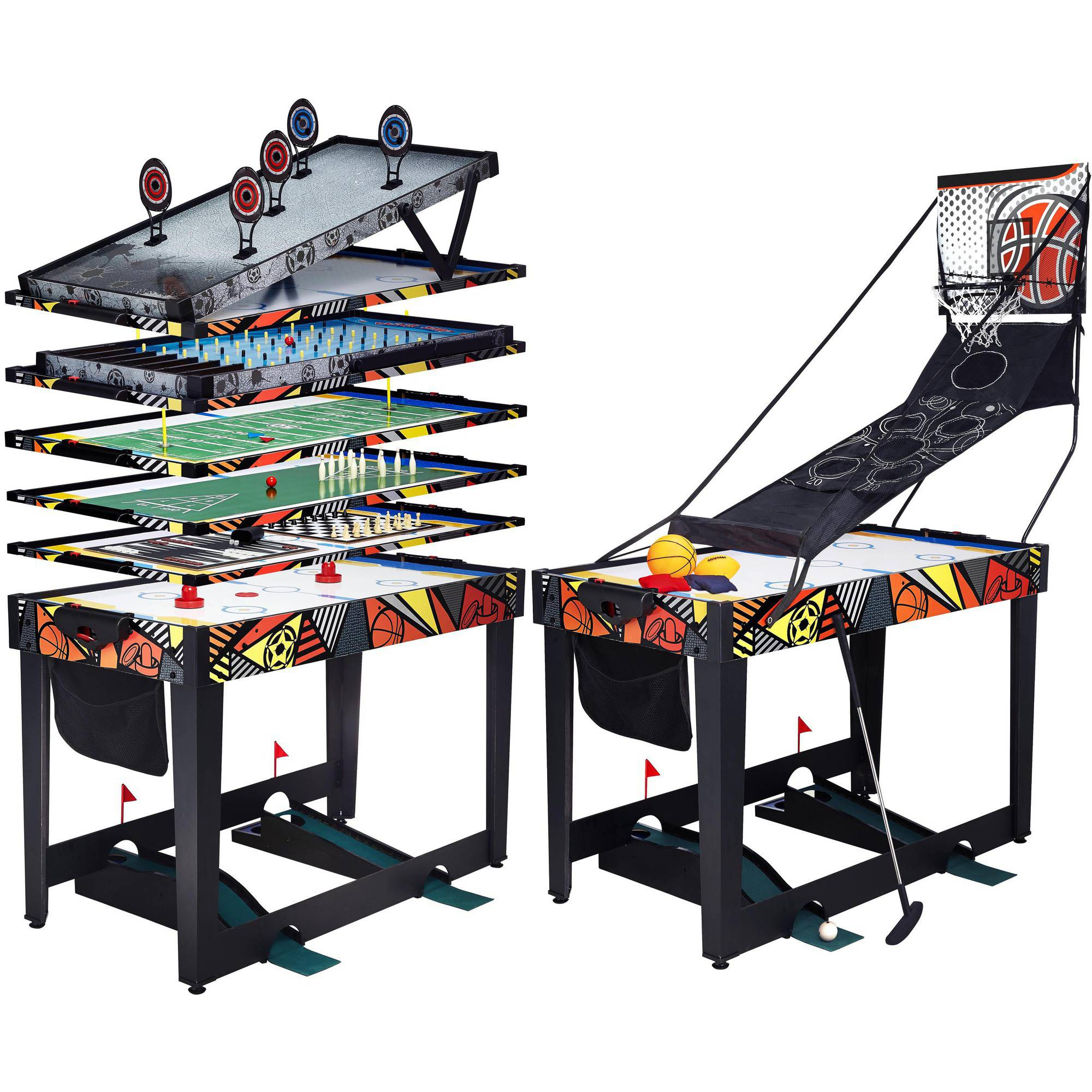 "48"" 12-in-1 Multi-Activity Combination Game Table"
