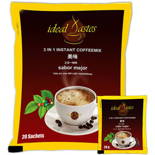 Plutus Ideal Tastes 3 in 1 Instant Coffee Mix Healthy Taste