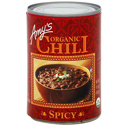 Amy's Kitchen Organic Spicy Chili, 14.7 oz (Pack of 12)
