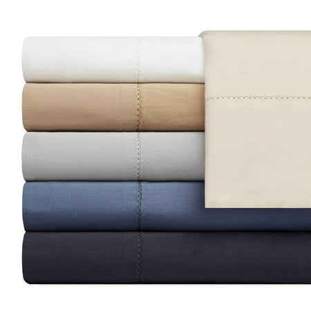 Portico Organic Washed 300 Thread Count Cotton Full Sheet Set in Bright White 4 Portico Collection
