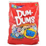 Dum-Dums Assorted Flavors Lollipops, 50 Oz, 300 Count