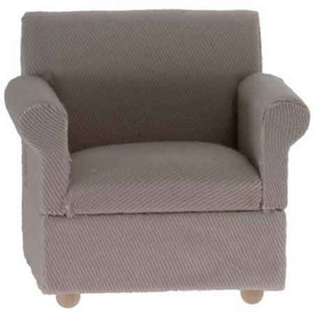 Dollhouse Beige Arm Chair