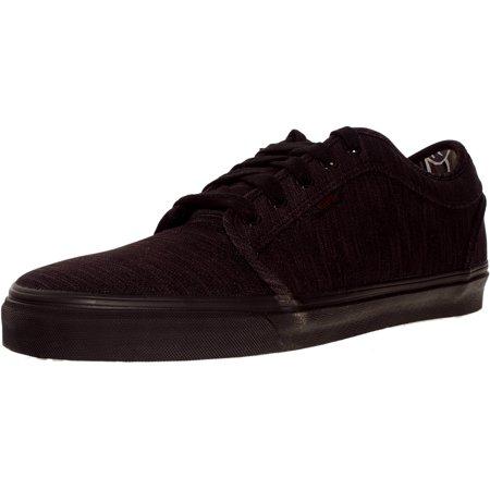 91753074a9 Vans - Vans Men s Chukka Low Mesh Black Aloha Ankle-High Skateboarding Shoe  - 9M - Walmart.com